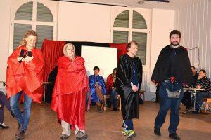 Aufführung Imrovisationstheater die Wundertüten