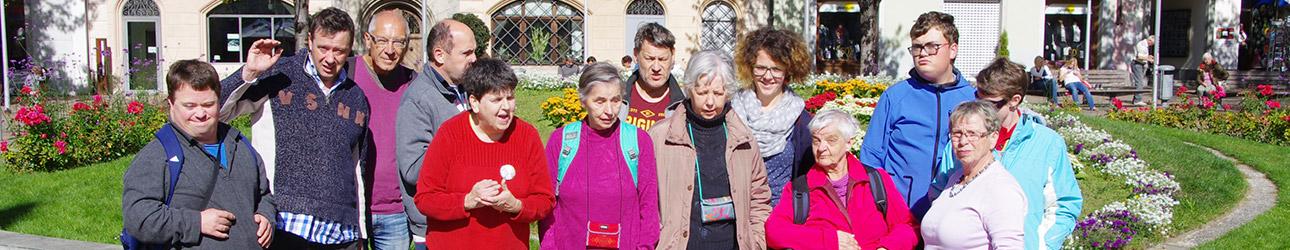 Ausflug mit der Gruppe